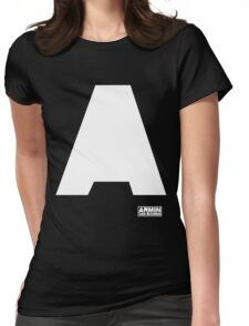 Amin Van Buuren logo A white - shirt - state of trance Womens Fitted T-Shirt