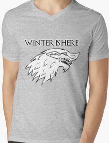 John Snow's banner Mens V-Neck T-Shirt
