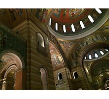 Cathedral Basilica - 3 Photographic Print