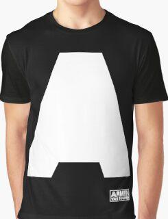Amin Van Buuren logo A white - t-shirt - trance - state of trance - festival - tomorrowland - new Graphic T-Shirt