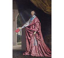 Cardinal Richelieu Photographic Print
