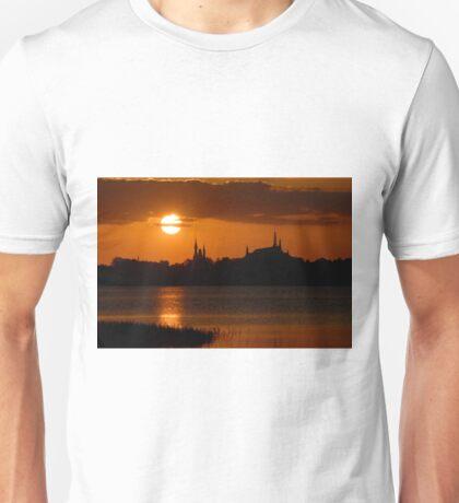 """""""Majic Kingdom Sunset"""" Unisex T-Shirt"""