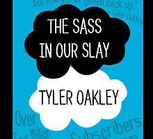 The Sass In Our Slay Tyler Oakley by punksterpie
