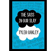 The Sass In Our Slay Tyler Oakley Photographic Print