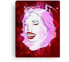 Strawberry Girl Canvas Print