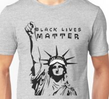 Statue of Liberty/ Black Lives Matter/African American rights Unisex T-Shirt