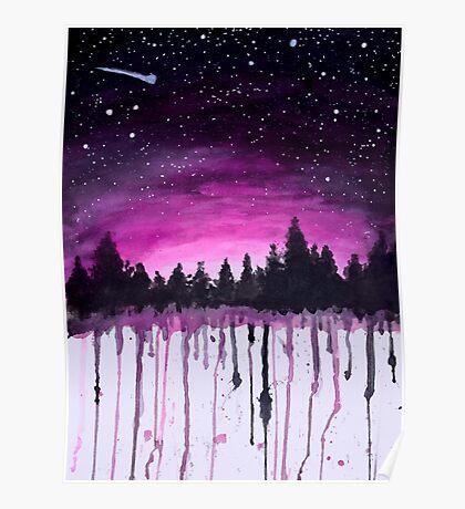 Speckled sky Poster