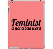 Feminist I iPad Case/Skin