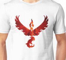 Team Valor Space/Fire theme - Pokemon GO Unisex T-Shirt