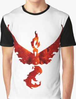 Team Valor Space/Fire theme - Pokemon GO Graphic T-Shirt