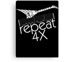 Repeat 4X Canvas Print