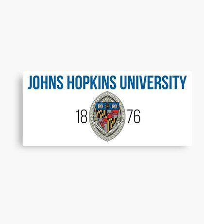 Johns Hopkins University Canvas Print