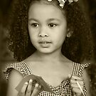 Sweet Innocence in Sepia by Heather Friedman