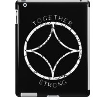 Together Strong (White) iPad Case/Skin