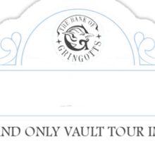 Gringotts/Amity Tours Sticker