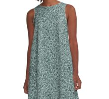 The Wild Water A-Line Dress