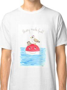 Buoy Meets Gull Classic T-Shirt