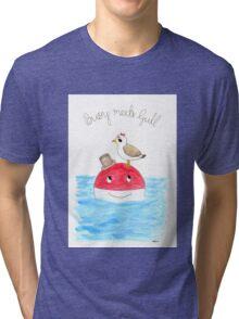 Buoy Meets Gull Tri-blend T-Shirt