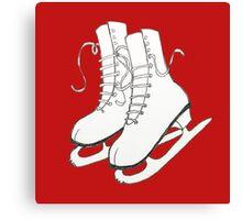 Figure Skates Canvas Print