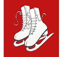 Figure Skates Photographic Print