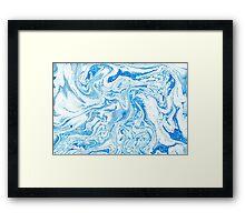 Shades of Blue #5 Framed Print