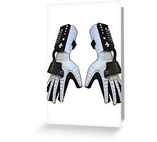 Power Gloves Greeting Card