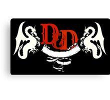 D&D Canvas Print