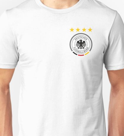 Germany Soccer European Football Crest Unisex T-Shirt
