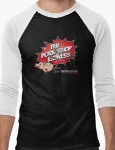 Pork Chop Express - Distressed Variant 2 Men's Baseball ¾ T-Shirt