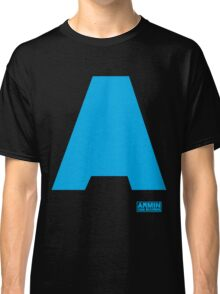 Amin Van Buuren logo A blue - t-shirt - trance - state of trance - festival - tomorrowland - new Classic T-Shirt