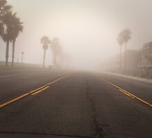 Eerie empty street by SammyPhoto