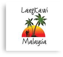 Langkawi Malaysia Canvas Print
