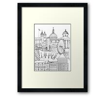 'London town' Framed Print