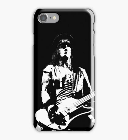NIKKI ON STAGE iPhone Case/Skin