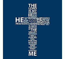 THE LORD IS MY SHEPHERD Photographic Print