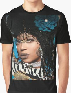 Beyonce Collage Art Wear Graphic T-Shirt