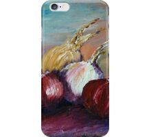 Still Life w.Onions iPhone Case/Skin