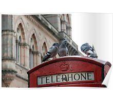 Vintage Telephone Poster