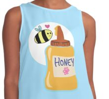 Save The Bees, Buy Honey Contrast Tank