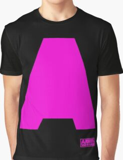 Amin Van Buuren logo A Pink - t-shirt - trance - state of trance - festival - tomorrowland - new Graphic T-Shirt