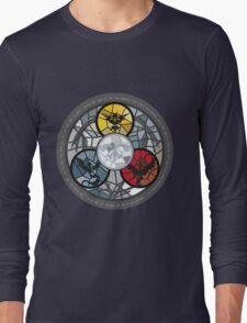 (The legendary Birds) Pokemon Parody Design Long Sleeve T-Shirt