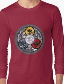 (The legendary Birds) Pokemon Parody Design Long Sleeve T-Shirt