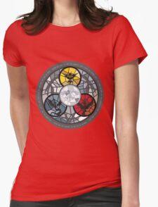(The legendary Birds) Pokemon Parody Design Womens Fitted T-Shirt