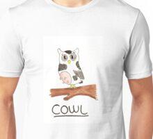 Cow + Owl = Cowl Unisex T-Shirt
