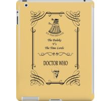 Dr Who: The Daleks V's The Time Lords iPad Case/Skin