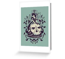 Mrs. Death Greeting Card