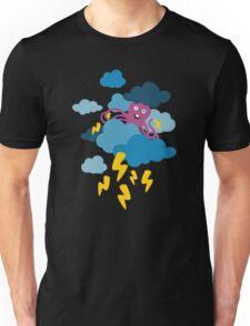 Who Makes the Thunder? - Night  Unisex T-Shirt