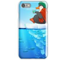 Peaceful Penguin iPhone Case/Skin