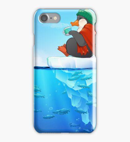 Peaceful Penguin iPhone Case/Skin