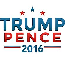 Trump Pence 2016 Photographic Print